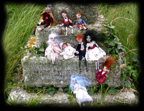 Ghost children of Ravensbreath Castle in the cemetery