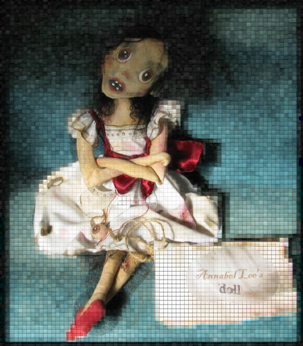 Annabel Lee ghost doll of Ravensbreath Island