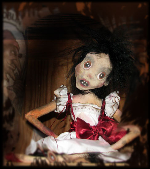 Annabel Lee Ghost girl Doll, from Ravensbreath