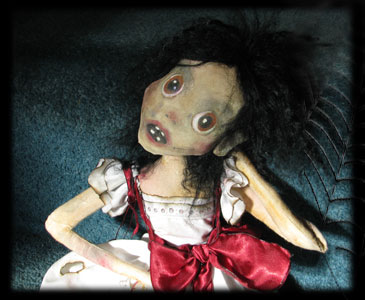 Annabel Lee ghost orphan child and ghost doll of Ravensbreath