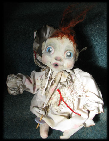 Baby haunted ghost doll of Ravensbreath