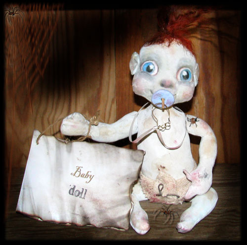 Baby Ghost doll of Ravensbreath